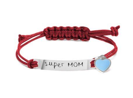 """MAMIJUX TAG Bracelet """"super MOM"""""""