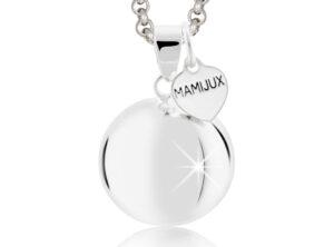 MAMIJUX<sup>®</sup> Silver Heart Harmony Ball