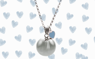 MAMIJUX® baby-blue heart harmony ball