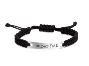 "MAMIJUX TAG Bracelet ""Super DAD"""