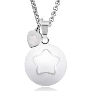 MAMIJUX® Harmony Ball White enamelled with star