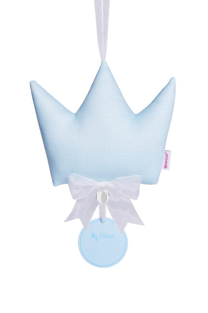 Fiocco nascita corona MAMIJUX