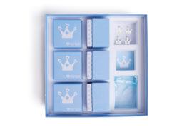 6 MAMIJUX® party favors kits - light blue