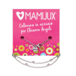 MAMIJUX® steel chain with beads