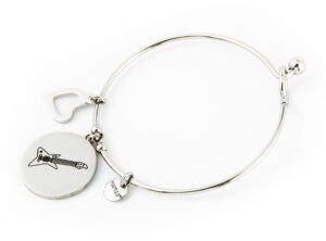 "The MAMIJUX® ""Rock mom"" bangle bracelet"