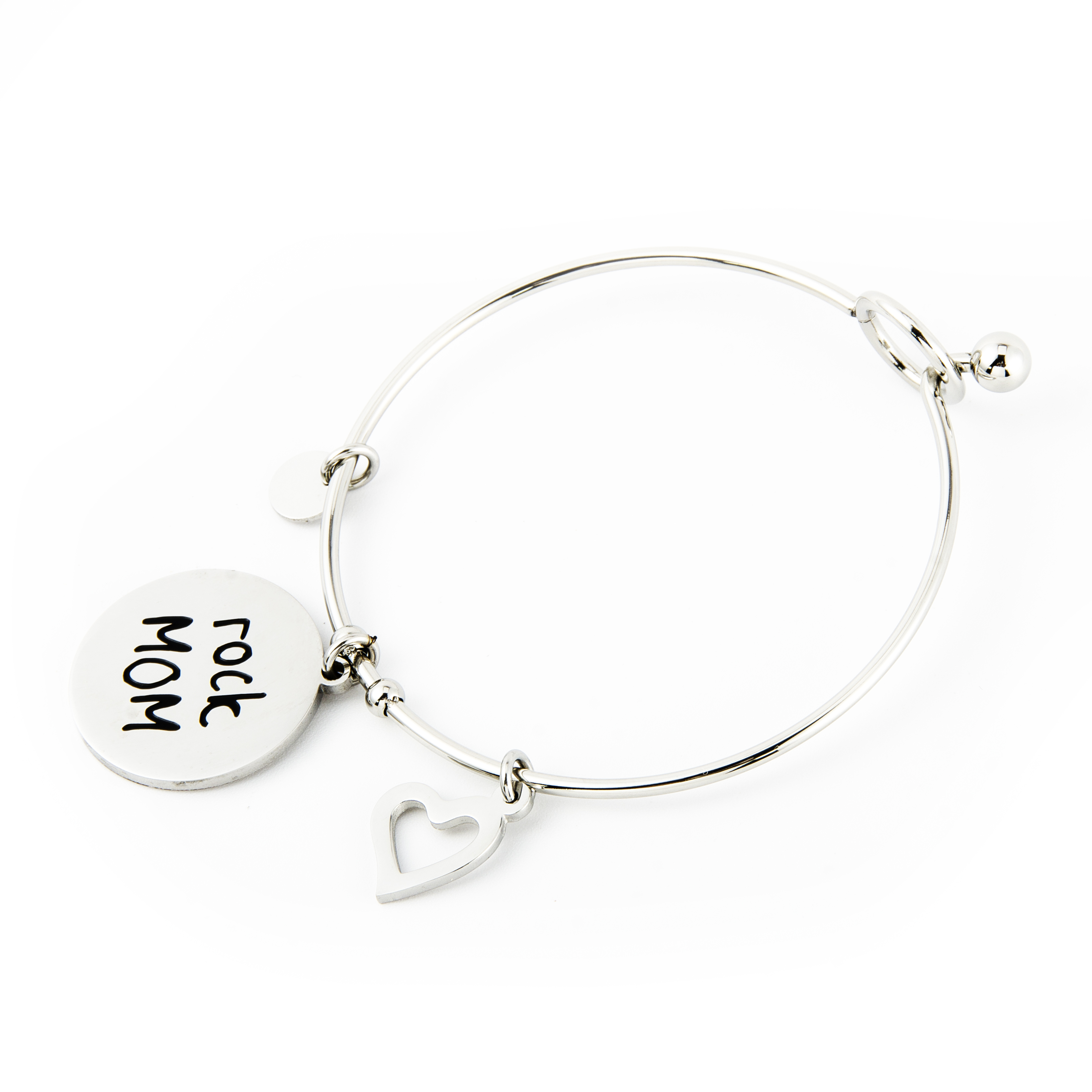 Rock MOM TAG bangle