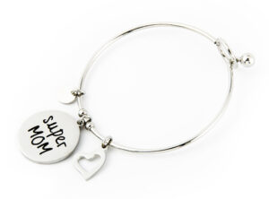 "MAMJUX® Bangle bracelet ""Super MOM"""