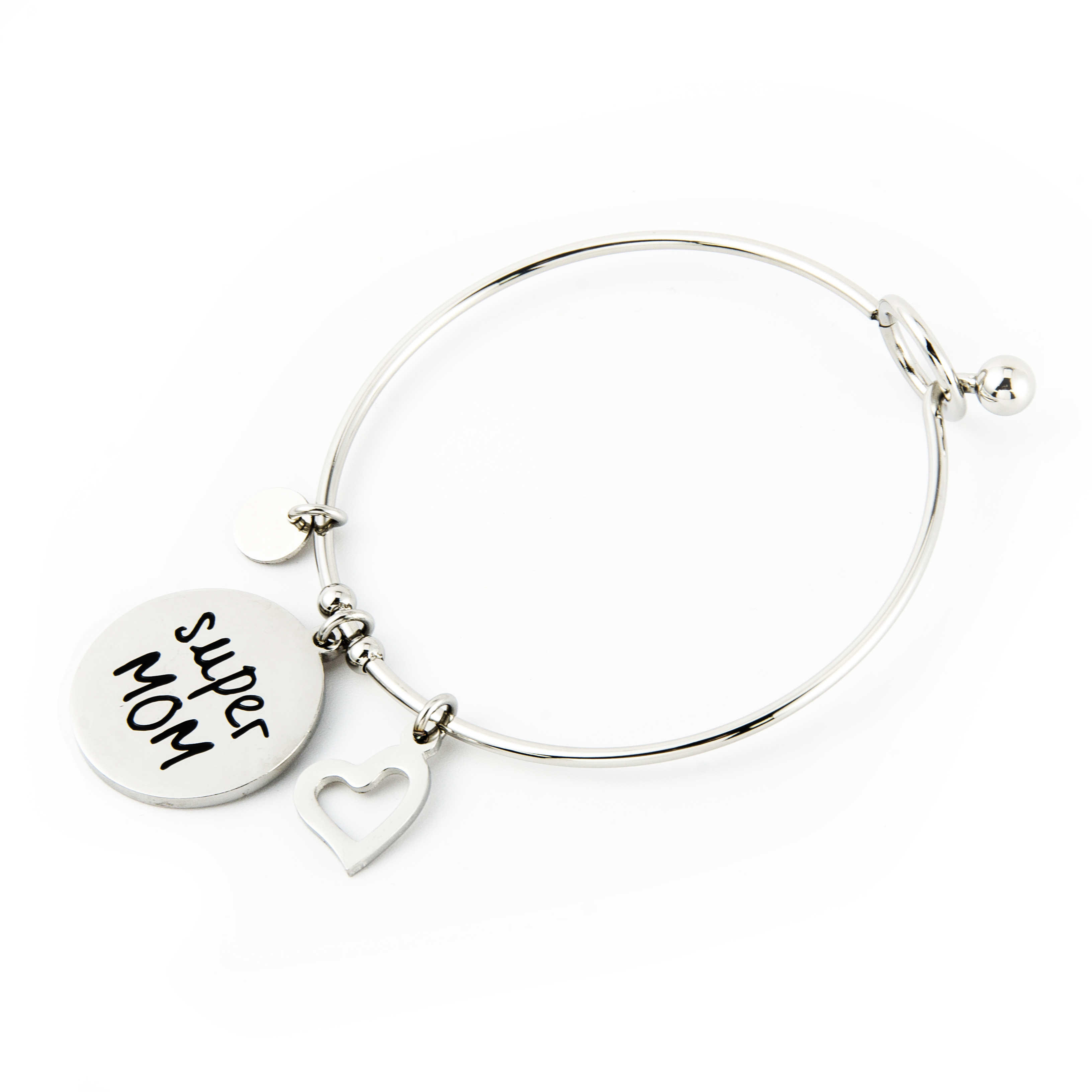 Super MOM TAG bangle