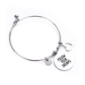 Follow your dreams TAG bangle