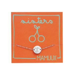 Sisters TAG steel chain bracelet