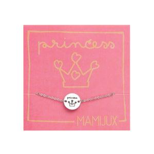 Princess TAG steel chain bracelet