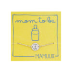 MAMIJUX® Mom to be small chain bracelet