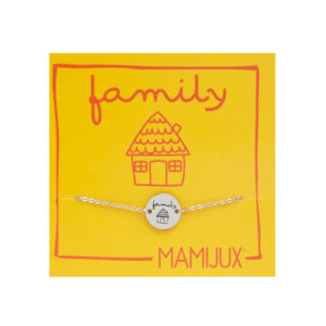 Family TAG steel chain bracelet