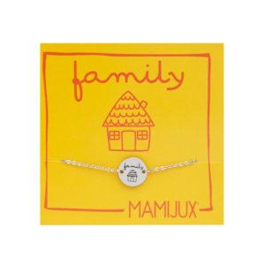 Family TAG steel chain bracelet