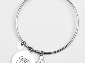 "MAMIJUX® Bangle Bracelet ""Good Luck"""