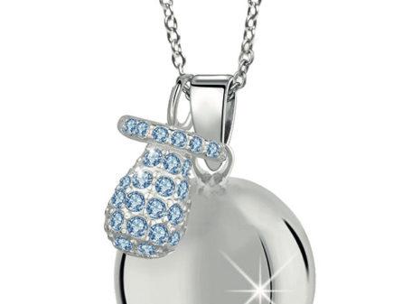 MAMIJUX® Light Blue Crystals Pacifier Harmony Ball