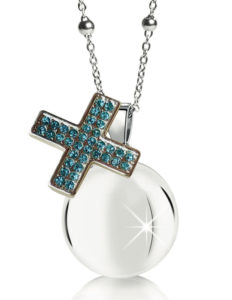 MAMIJUX® Blue Crystals Cross Harmony Ball