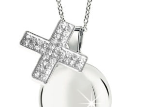 MAMIJUX® White Crystals cross Harmony Ball