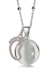 MAMIJUX® Pink Crystals Baby Foot Harmony Ball
