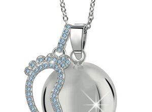MAMIJUX® light blue Crystals baby foot Harmony Ball