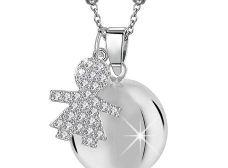 MAMIJUX® White Crystals baby girl Harmony Ball