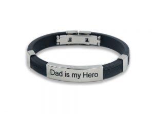 Bracciale MAMIJUX Dad is my Hero